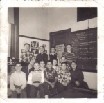 6th Grade - Cutter School - Mrs. Daniels' Class: The boys in this photo are Dave Rivers; Tommy Bruno; Jay Ford; Dean Ma