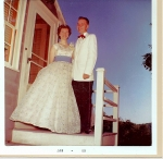Linda Pdtfield & Joe ready for Sr Prom June 6, 1960    Submitted by Linda (Petfield) Jandrew