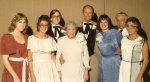 Nov 3, 1984 - My 2nd wedding:  Lisa Shannon, Mary (Bellizia) West, Darrell Shannon, Gratia Bellizia, Charles West, Judit