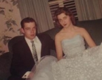 Diane Ander & Jimmy Plunkett Jr Prom 1959  Submitted by Diane Anders