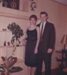Diane Anders and Jimmy Plunkett New Years Eve 1959  Submitted by Diane Anders