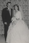 Diane Anders & Jimmy Plunket Wedding   11/19/61