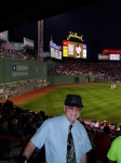 George Robinson celebrating his 70th birthday at Fenway Park!