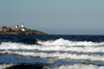 Nubble Light house Long Sands York Beach