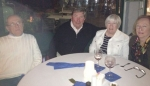Ed Frazier, Jerry Buckley, Elaine Patterson, Pat Buckley